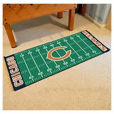 Football Field Area Rug Awesome Football Field Area Rug Make A Chica In Rugs Decorations 3