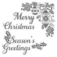 merry christmas 6x6 laser cut stencil merry christmas