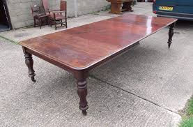 3 Metre Dining Table Antique Furniture Warehouse Post Regency 3 Metre Dining Table