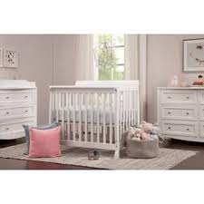 Mini Crib With Attached Changing Table Baby Cribs For Less Overstock