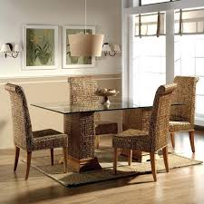indoor wicker dining chairs dining rattan dining wicker dining set