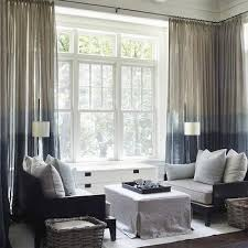 Ombre Window Curtains Creative Of Ombre Sheer Curtains And Platte Dip Dye Gray Ombre