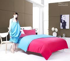 Plain Duvet Cover Plain Bed In A Bag Duvet Cover Pillow Case Sheet 100 Cotton Plain