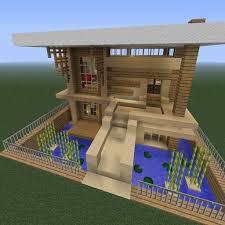 membuat rumah di minecraft rumah minecraft modern apk download from moboplay