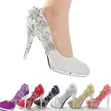 wedding shoes ebay 2014 glitter gorgeous wedding bridal evening party high