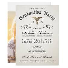 nursing school graduation invitations graduation party diploma customizable rsvp reply card zazzle