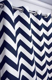Navy Chevron Curtains Navy Blue Curtains To The Room That Wants To Look Formal Home