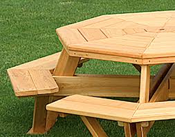 Octagon Patio Table by Cypress 57