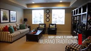 ivory home floor plans ivory homes murano floor plan youtube