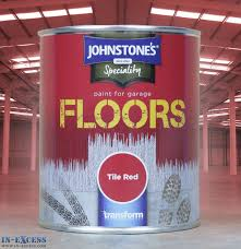 red floor paint johnstone u0027s speciality paint for garage floors 750ml tile red in