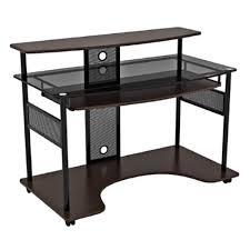 Z Line Designs Computer Desk Z Line Designs Kezar Computer Desk Workcenter Expresso