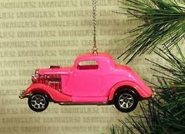1934 ford 3 window coupe 34 pink ornament ebay