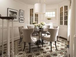 Elegant Interior And Furniture Layouts Pictures  Round Dining - Round dining room table sets