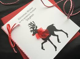 handmade christmas card reindeer handmade cards pink u0026 posh