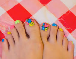 cute big toe nail designs images nail art designs