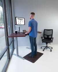 Ergo Standing Desk by Omega Olympus Standing Desk With Built In Steadytype Keyboard Tray