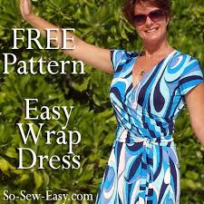wrap dress pattern free sewing pattern free sewing patterns