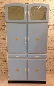 Retro Kitchen Cabinet Vintage 1950s Kitchen Pantry Cabinet Larder Kitchenette Hygena