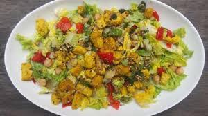 cuisiner la mangue salade au tofu curry mangue recette par cuisiner en paix