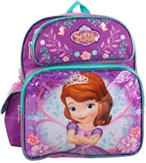 amazon disney sofia backpack pink u0026 purple toys
