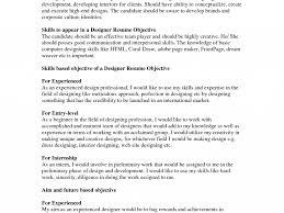 interior design resume objective examples charming great objectives for resumes 13 great objective for download great objectives for resumes
