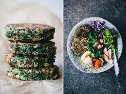In The Green Kitchen - green kitchen stories spinach u0026 quinoa patties in a bowl