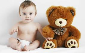 cute baby boy autumn leaves wallpapers blonde child toy teddy bear 7040195