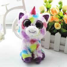 quality 6 u0027 u0027 cute colorful unicorn stuffed ty animals beanie