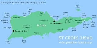 st croix caribbean map st croix map croix usvi