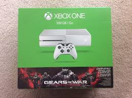 xbox one 500gb gears of war ultimate edition console bundle for microsoft xbox one 500gb white gears of war gaming console system