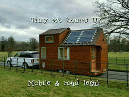 Small Eco Houses 18ft X 8ft Mobile Tiny Eco Home Caravan In Stocksfield