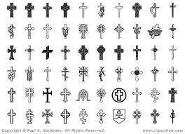 collection of 25 cross design