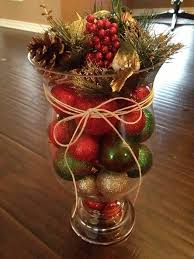 Vase Table Centerpiece Ideas Best 25 Christmas Vases Ideas On Pinterest Diy Christmas Vases