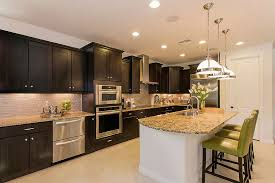 wood kitchen cabinets with white island 44 grand rectangular kitchen designs pictures home