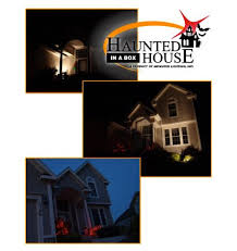 house animated animated lighting products just add power haunted house in a box