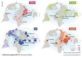 World Map Vietnam by Mapping The World U0027s Biggest Weapons Exporters U2013 And Their Best