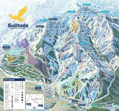 Mt Snow Trail Map Solitude Ski Resort Map Weather U0026 Information Ski Utah