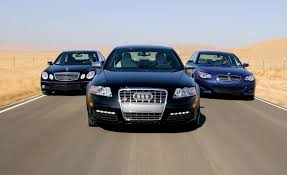 audi s6 vs 2007 audi s6 vs bmw m5 m b e63 amg comparison test car and