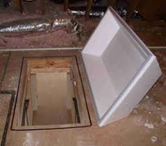attic opening cover how to build an attic stair cover for big