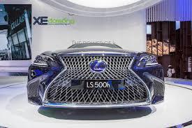xe lexus moi cận cảnh lexus ls 500h 2018 thế hệ mới ra mắt tại việt nam xe