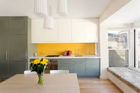 Yellow Kitchen Cabinets Kitchen Yellow Accent Kitchen Features White Kitchen Cabinet With