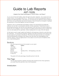 6 what does a lab report look like budget template letter