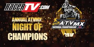 ama atv motocross schedule 2016 annual atvmx night of champions atv motocross