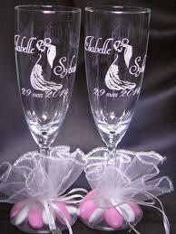 cadeau original mariage gravure sur verre 1 48 verre gravé flute gravée mariage bapteme