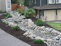 river rocks entry garden crowdbuild for