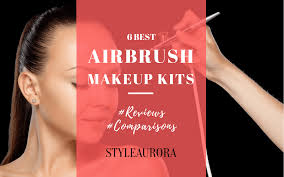 best professional airbrush makeup system best airbrush makeup reviews 2017 top 6 kit for flawless hd look