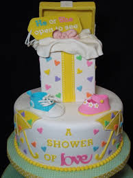 gender reveal cake featured sponsors cakes pinterest