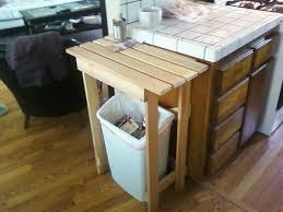 trash storage shed ikea tilt out trash bin kitchen cart with trash