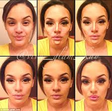 contouring2 makeup transformation contour how to highlight
