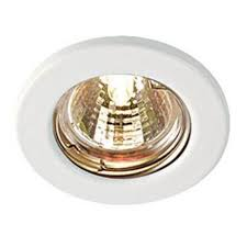 Ceiling Spot Light by Recessed Fitting Mains 240v Gu10 Led Fixed Ceiling Light